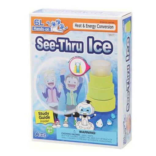science gizmo see-thru ice kit