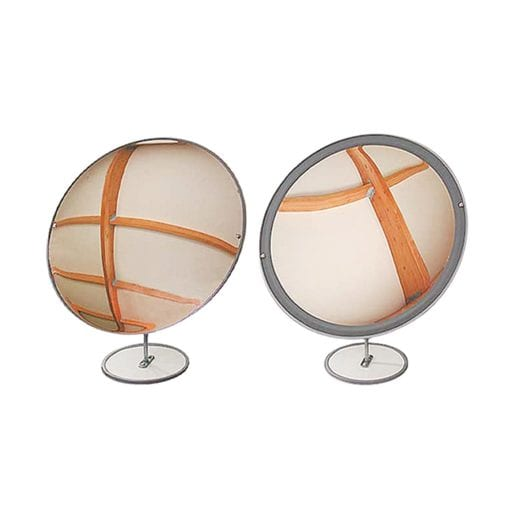 mirrors both large convex and concave