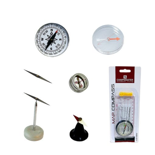 variety of compasses