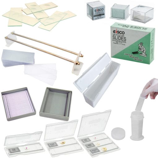 microscope slides and coverslips