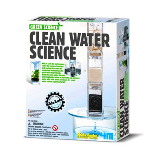 science gizmo clean water science pack