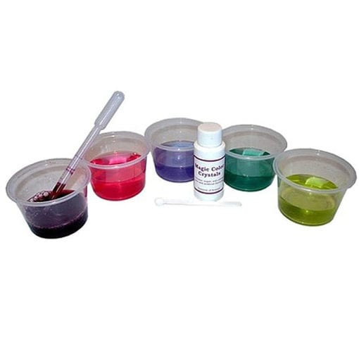 science gizmo red cabbage magic crystal