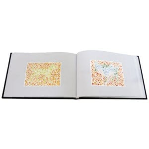 Colour Blindness Test Book.