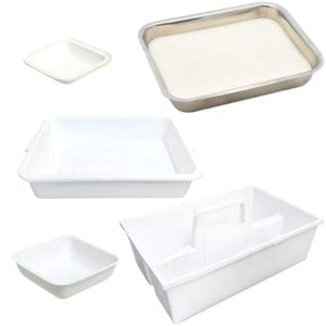 Trays assortment