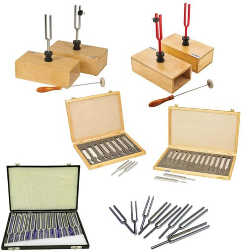 Tuning forks assortment