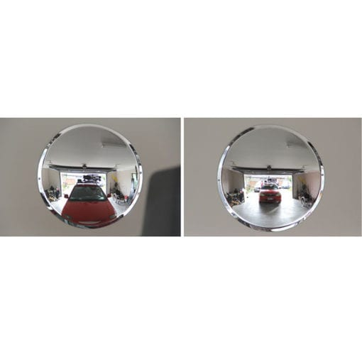 Mirror convex for garage