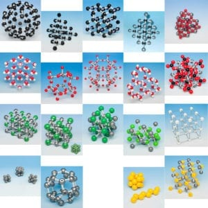 Molymod inorganic models crystal structure type