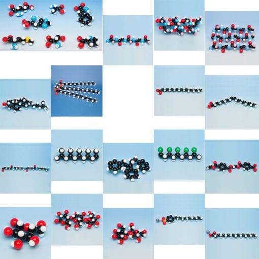 Molymod organic molecular models