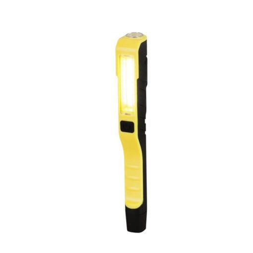 yellow and black handheld torch