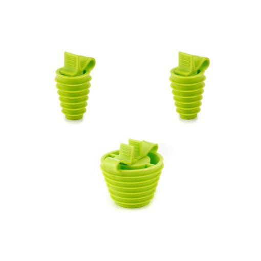 stopper silicone multi-hole-sized
