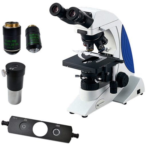 microscope stereo sl-- with spare accessories.