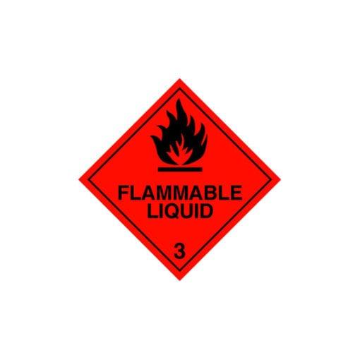chemical label for 1-iodobutane.