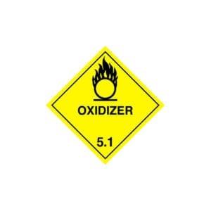 aluminium nitrate label