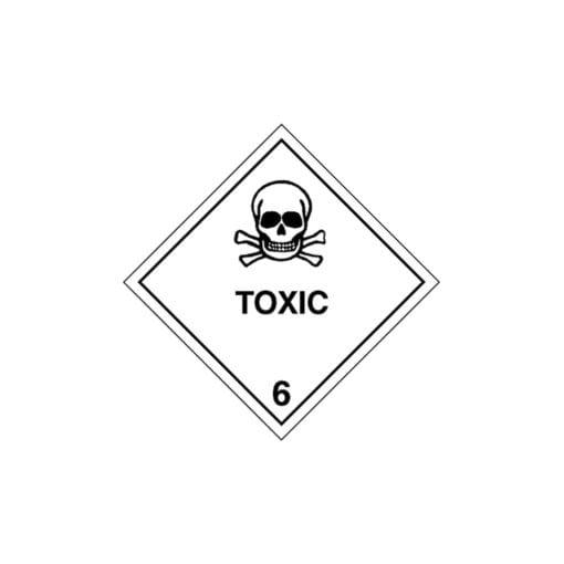Potassium dichromate label