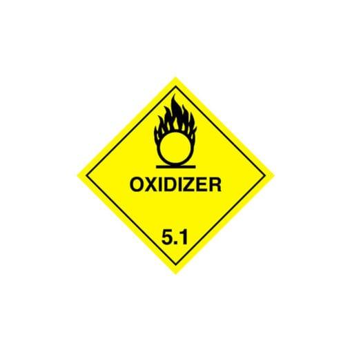 Potassium peroxy-disulphate label