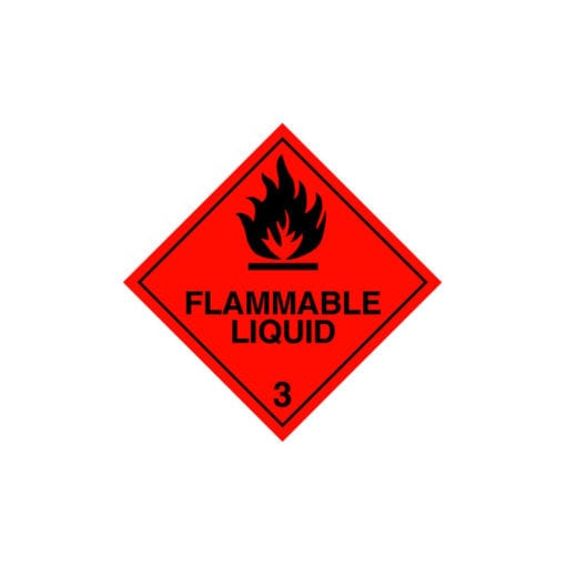 chemical label for Toluene